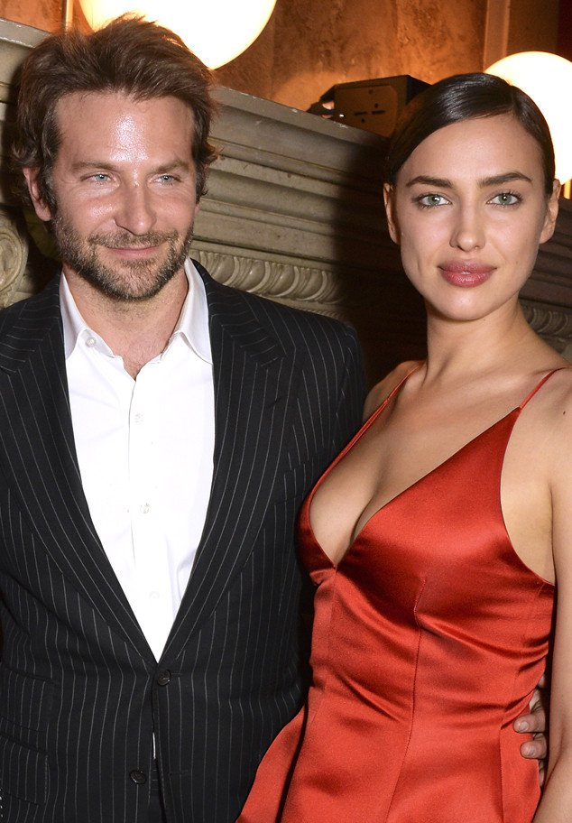 PARIS, FRANCE - MARCH 08: Bradley Cooper and Irina Shayk attends the Red Obsession party in Paris to celebrate L'Oreal Paris's partnership with Paris Fashion Week. L'Oreal Paris spokesmodels accessorised with accents of red to celebrate the launch of the new Color Riche La Palette on March 8, 2016 in Paris, France. (Photo by David M. Benett/Dave Benett/Getty Images For L'Oreal)