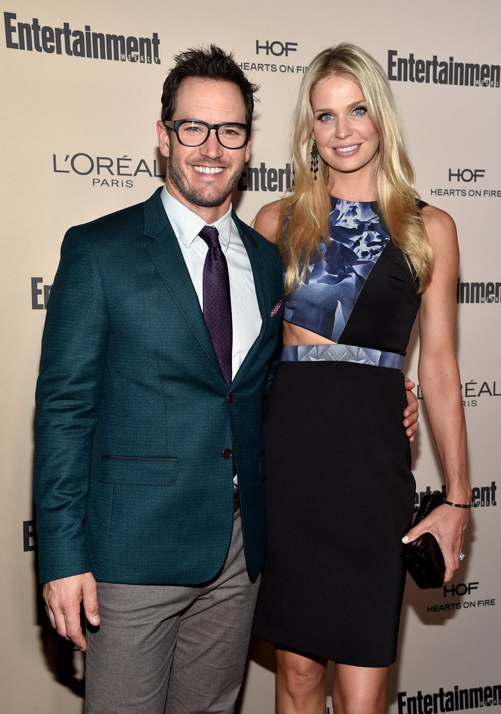 mark-paul-gosselaar-catriona-mcginn-emmys-party-2015